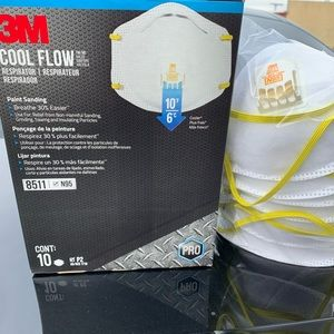 NEW 3M 8511 N95 Particulate Respirator Mask-10Mask